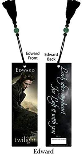Twilight Edward segnalibro con nappa