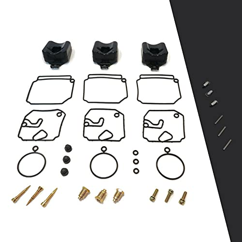 The ROP Shop | Carburetor Repair Kit for Yamaha 6H4-W0093-03-00, 6H4-W0093-02-00 Outboard Boats