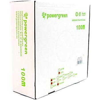Powergreen CAB-06100-BFT Bobina de Cable Cat 6 FTP 100 Metros