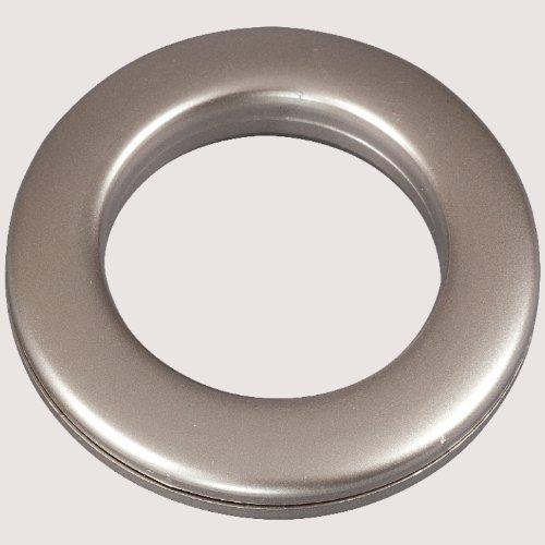 Ruther & Einenkel Stoffösen, Durchmesser 40 mm, für Stoffe bis 4 mm/Aufmachung 10 Stück (Edelstahl)