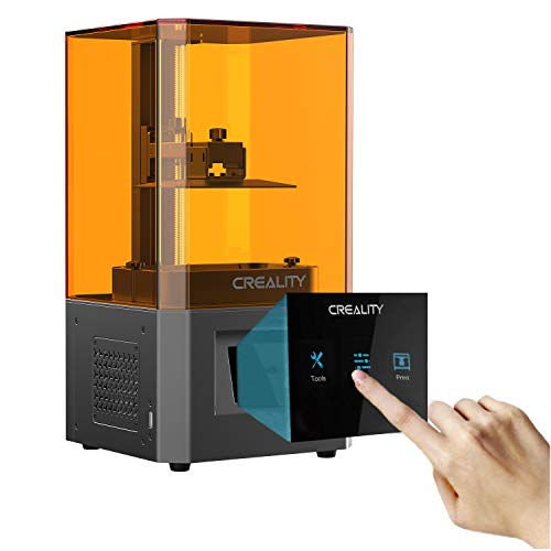 3D printer, 3D printer with LCD molding technology, with 3.5 inch smart color touchscreen offline printing print area of 4.7 * 2.6 * 6.3 in (without resin)