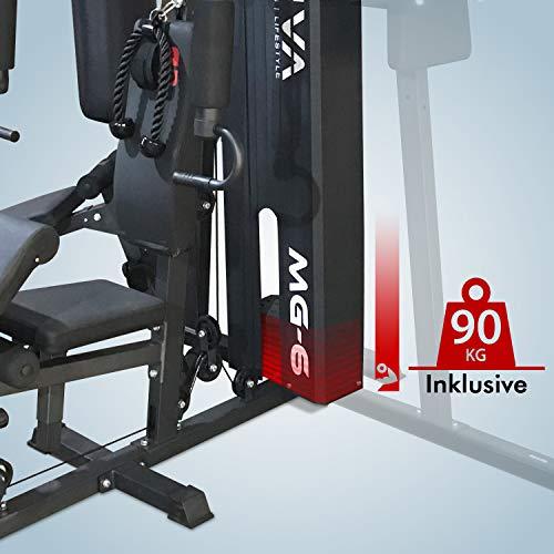 Kraftstation AsVIVA MG6 Pro 50in1 90kg Bild 6*