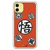 Personalaizer Fundapara iPhone 11 - Dragon Ball Z. Fundas Frikis Bola del Dragón (Dragon Ball Z Simbolos)