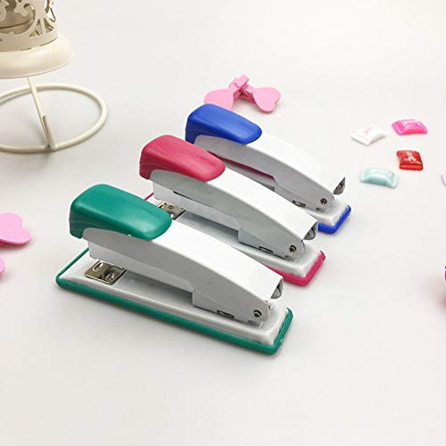 Florenceenid School Children Mini Desktop Stapler for Office School Home Travel and Best for Friends and Childrens