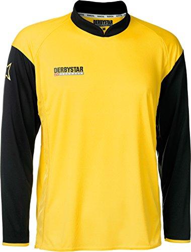 Derbystar Trikot Primera Langarm, M, gelb schwarz, 6145040520
