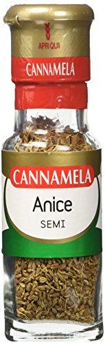 Cannamela, Linea Maxi Oro, Anice in Semi, Sapore Fresco e Intenso, per Ricette Dolci e Salate, per Insaporire Zuppe, Minestre e Stufati, Confezione da 6 x 40 g