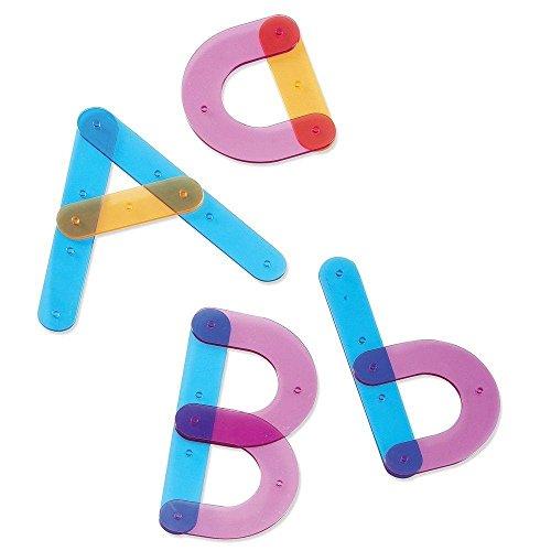 Learning Resources- Set de Actividades para la construcción de Letras, Color (LER8555)