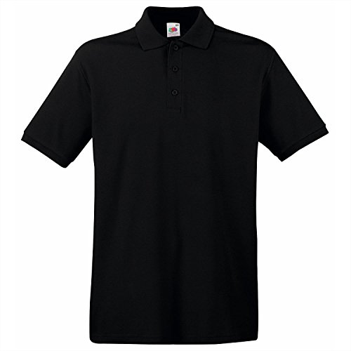 Fruit of the Loom Premium polo Black 2XL