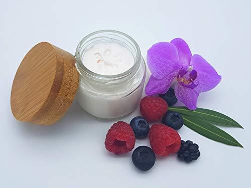 Sheasahne Redberry Smoothie, vegan, allergenfrei, plastikfrei, ohne Palmöl, reichhaltige Bodylotion von kleine Auszeit Manufaktur