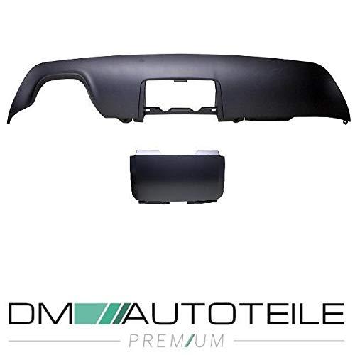 DM Autoteile Diffusor +Klappe passt für E60 E61 M Stoßstange mit Anhängerkupplung 03-10