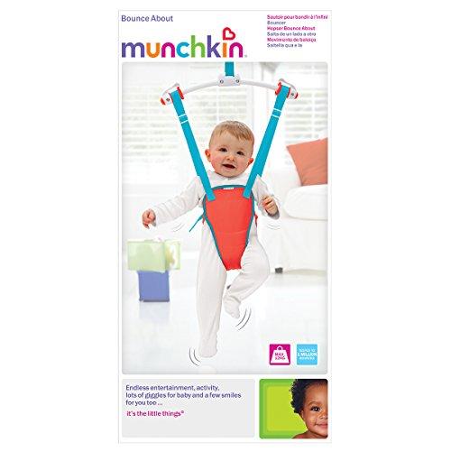 Munchkin Bounce About Türhopser, rot - 6