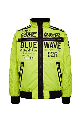 Camp David Herren Leichter Blouson mit Tapes und Artworks