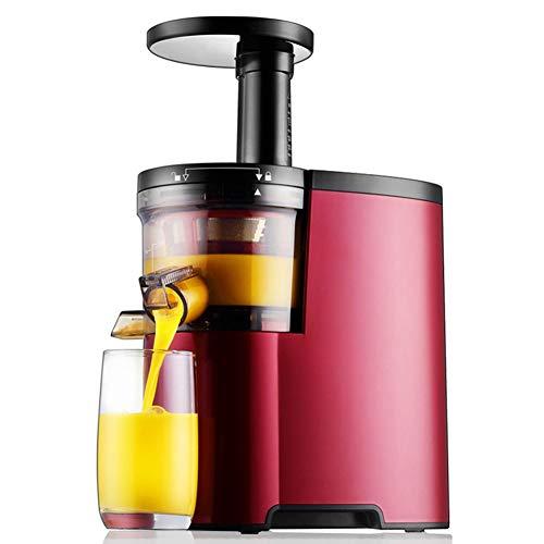 SXJ Exprimidor Masticador, Extractor De Jugo Lento para Nutrientes Más Altos Y Vitaminas, Motor Silencioso De 150 Vatios, para Frutas, Verduras, Alimentos para Bebés Y Batidos