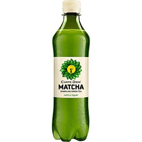 12 Flaschen Carpe Diem Matcha Classic 0,5l inc. 3.00€ EINWEG Pfand Rauch