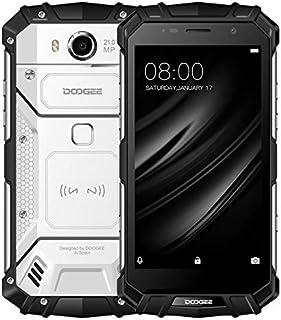 DOOGEE S60 Triple Proofing Phone, 6GB+64GB, IP68 Waterproof Dustproof Shockproof, 5580mAh Battery, Fingerprint Identification, 5.2 inch Android 7.0, 4G, NFC, OTA, QI Wireless Charge(Silver)