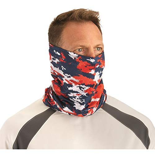 Guide Gear Cooling Neck Gaiter Fishing Face Cover Mask Scarf Summer Cool Lightweight Breathable Perfect for Outdoor Activities