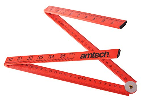 Am-Tech 1 m Metro plegable plástico, P5185