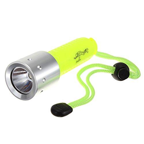 SODIAL 3000LM Band XML-T6 LED Lanttern Impermeable Submarinismo Submarinismo 18650 Linterna Divertida Lampara de luz de antorcha para buceo