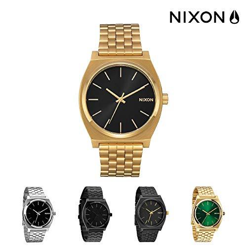 Nixon Time Teller Reloj para Hombre Analógico de Cuarzo con Brazalete de Acero Inoxidable A0452042