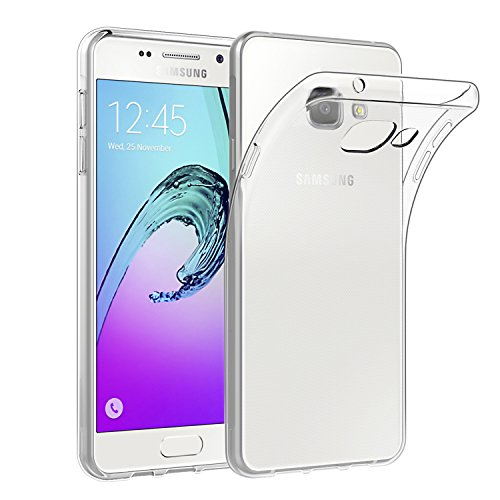 EasyAcc Hülle Case für Samsung Galaxy A5 2016, Dünn Crystal Clear Transparent Weich Handyhülle Cover Soft Premium-TPU Durchsichtige Schutzhülle Kompatibel mit Samsung Galaxy A5 2016 / A510F