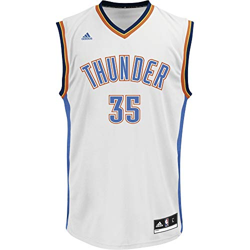 adidas Herren Trikot NBA Oklahoma City Thunder Durant Replica, Multicolor, XS