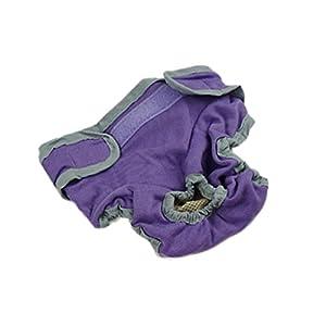 Sharplace Chien Pantalon Sanitaire Culotte pour Chienne Animal Animal Femelle en Coton