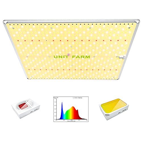 UNIT FARM UFS3000 LED Grow Light, 200W Plant Grow Lights, 736 OSRAM LED Full Spectrum Growing Lamp,...