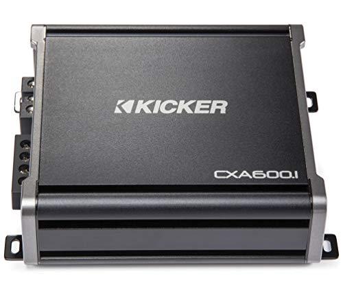 Kicker 43CXA6001 600 Watt RMS Monoblock Amp Mono One Channel Power Amplifier