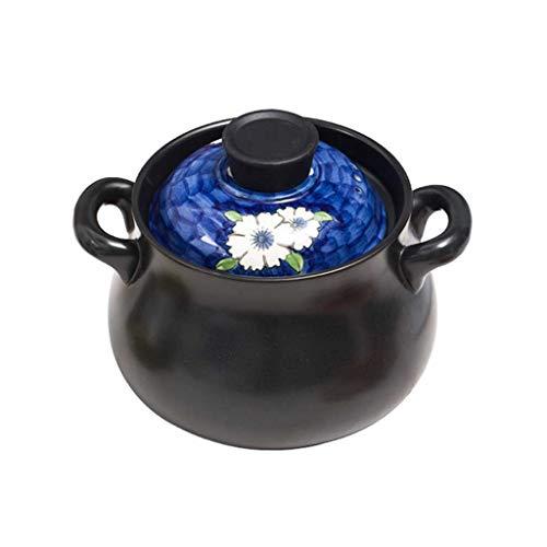 LINGZHIGAN Grande Casserole Pot À Soupe Maison Pot À Soupe En Céramique (Capacité : 3.5L)