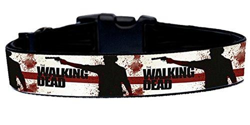 The Walking Dead D Collar Perro Hecho A Mano Talla XL Handmade Dog Collar