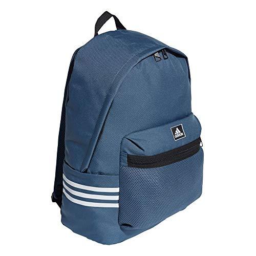 adidas Unisex Clas Bp 3s Mesh Backpack Unisex Backpack, unisex_adult, Unisex backpack., GD5614, Legblu/White, standard size