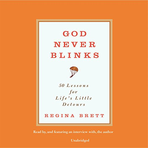 God Never Blinks audiobook cover art