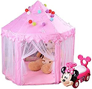 B-a-b-y Girls Toys Princess Castle Play Tent Children Indoor Games