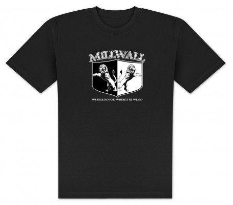 World of Football T-Shirt Millwall Wappen - M