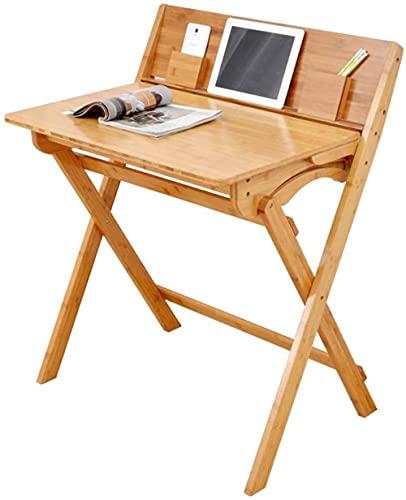 Mesa de ordenador simple Mesa plegable y silla Escritorio Estudio sencillo para estudiantes Mesa de comedor multifuncional (la silla de mesa se puede utilizar juntos) A ++ (Color: A)-A