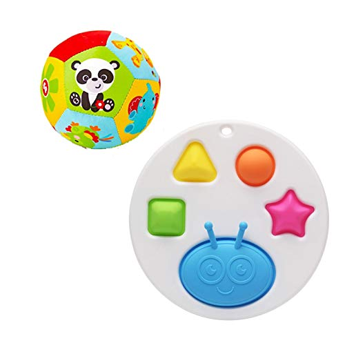 UYTTlhk Juguetes sensoriales para bebés, bebé Educación temprana Ratones Juguetes Silicona Suave Infantil Educación temprana Desarrollo de Inteligencia y Juguetes de Entrenamiento intensivo