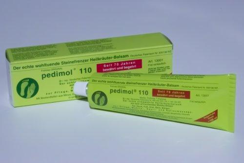 Pedimol 110 Heilkäuter Balsam mit dem wunderbaren Wohltu-Effekt 100 ml