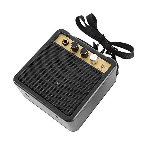Heaviesk E-Wave Mini-Gitarrenverstärker-Gitarrenverstärker mit hinterem Clip-Lautsprecher Gitarrenzubehör für akustische elektrische Gitarre