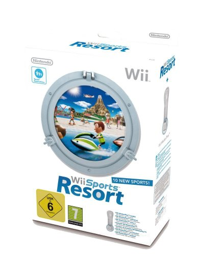 Wii Sports Resort inkl. Wii Motion Plus, weiß