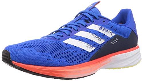 Adidas Sl20 Summer Ready, Sneaker Hombre, Azul/Blanco/Rojo, 42 EU