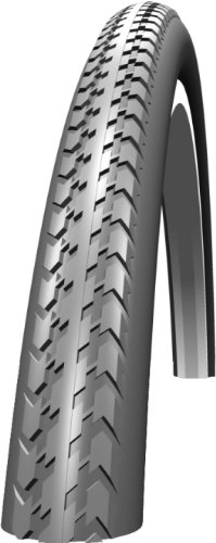 Schwalbe HS127 Wheelchair Tyre: 24' x 1.3/8 Grey Wired. HS 127, 37-540, Active Line, Puncture Protection