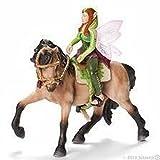Schleich - Set para equitación para elfa del Bosque (42109)