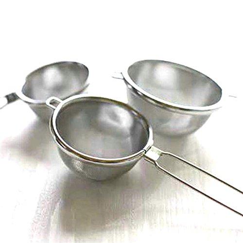 ナガオ燕三条茶こしハイテックストレーナーLサイズ18-8ステンレスタタミ織日本製
