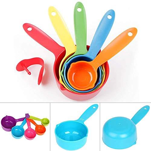 Juego de 5 cucharas medidoras para cocina, utensilios de cocina, utensilios de cocina, cuchara y utensilios de cocina large