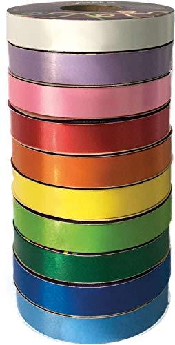 Emfesta FL10SOR, Fita Poli Lisa, 15 x 50 m, Multicolor, Pacote de 10