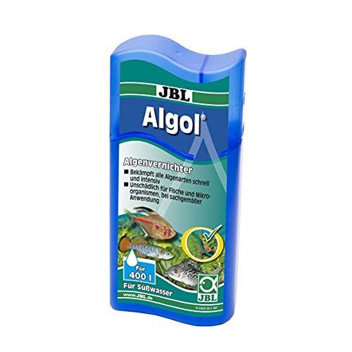 JBL Algol 2302200 Algenvernichter, Für Süßwasser-Aquarien, Unschädlich für Fische, 100 ml