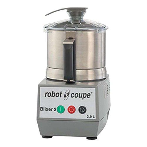 Robot Coupe BLIXER 2 Blixer Commercial Blender/Mixer, 2.9-Liter Bowl, Stainless Steel, 120v