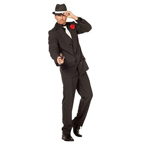 Preisvergleich Produktbild PARTY DISCOUNT NEU Herren-Kostüm Gangster-Anzug ,  Gr. 54-56