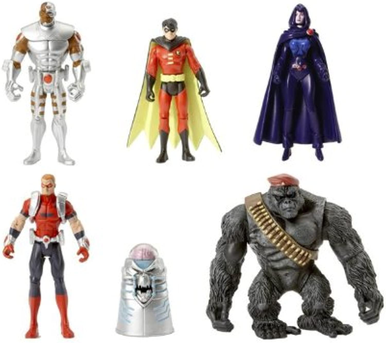 DC Universe Infinite Heroes Crisis Exclusive Action Figure 6Pack Mallah's Revenge (Robin, Cyborg, Raven, Brain. Arsenal and Monsieur Mallah)