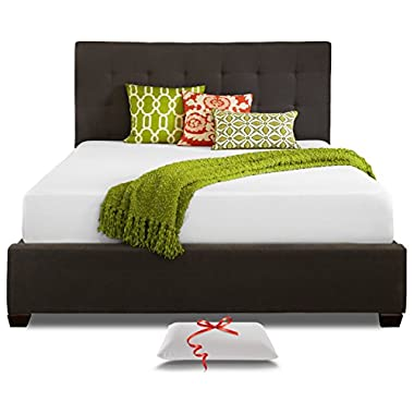 Live & Sleep - Resort Sleep Classic California King Size, 10 Inch Cooling Bed in a Box, Medium-Firm Memory Foam Mattress with Advanced Support and Pillow, Certi-PUR Certified, Cal King